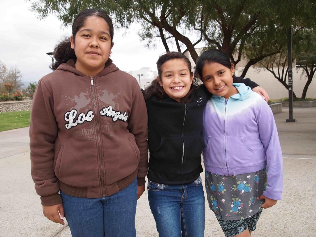 Tamara, Alyssa, and Jennifer @ CSUSB.